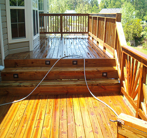 Decking Cleaning Buckinghamshire image
